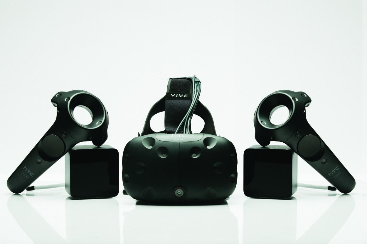 HTC Vive Pre - mat. pras. HTC