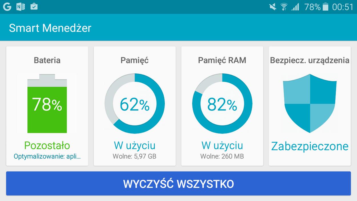 Samsung Galaxy A3 2016- Smart Menadżer - 90sekund.pl
