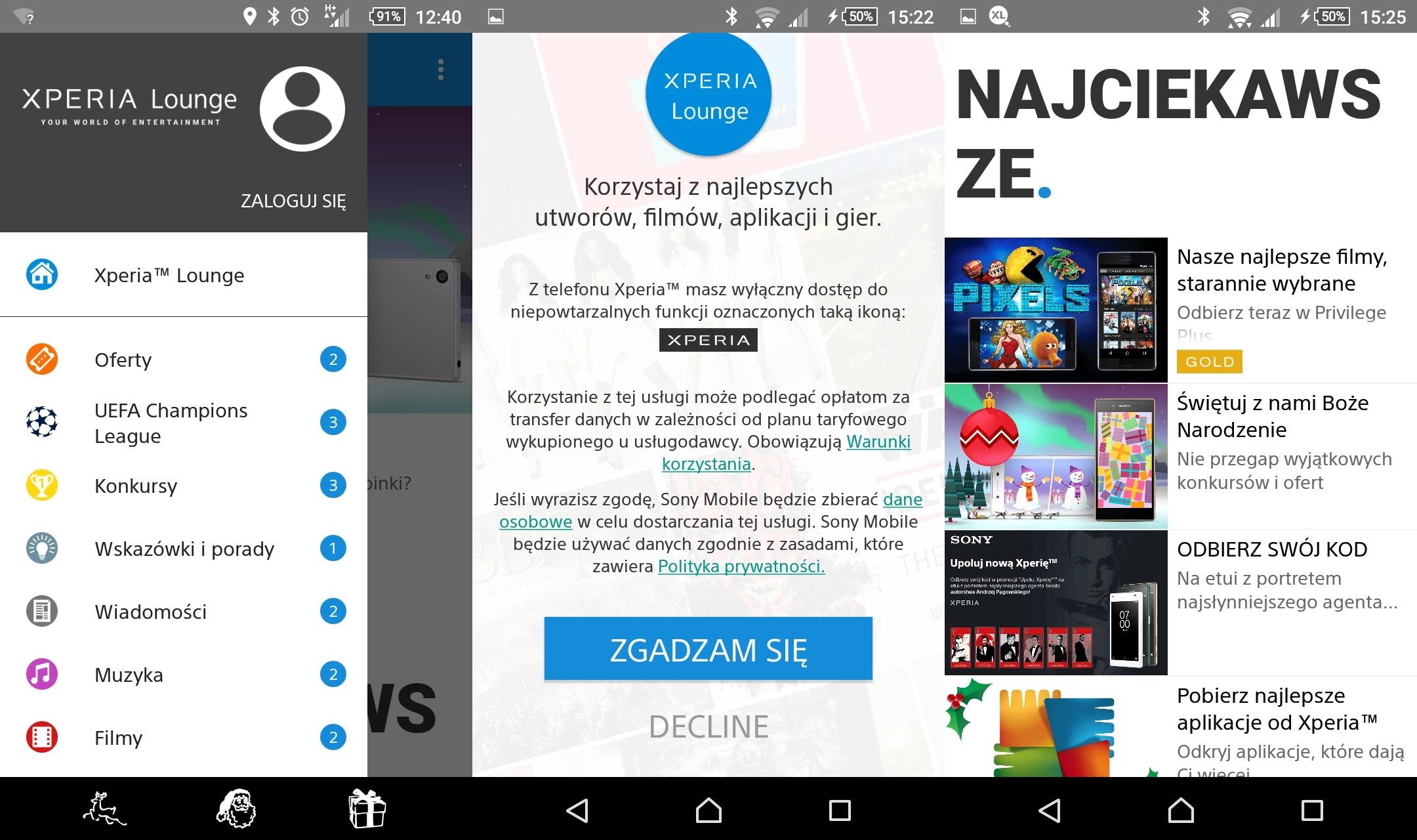 Recenzja Sony Xperii Z5 Compact i aplikacja Xperia Lounge - 90sekund.pl