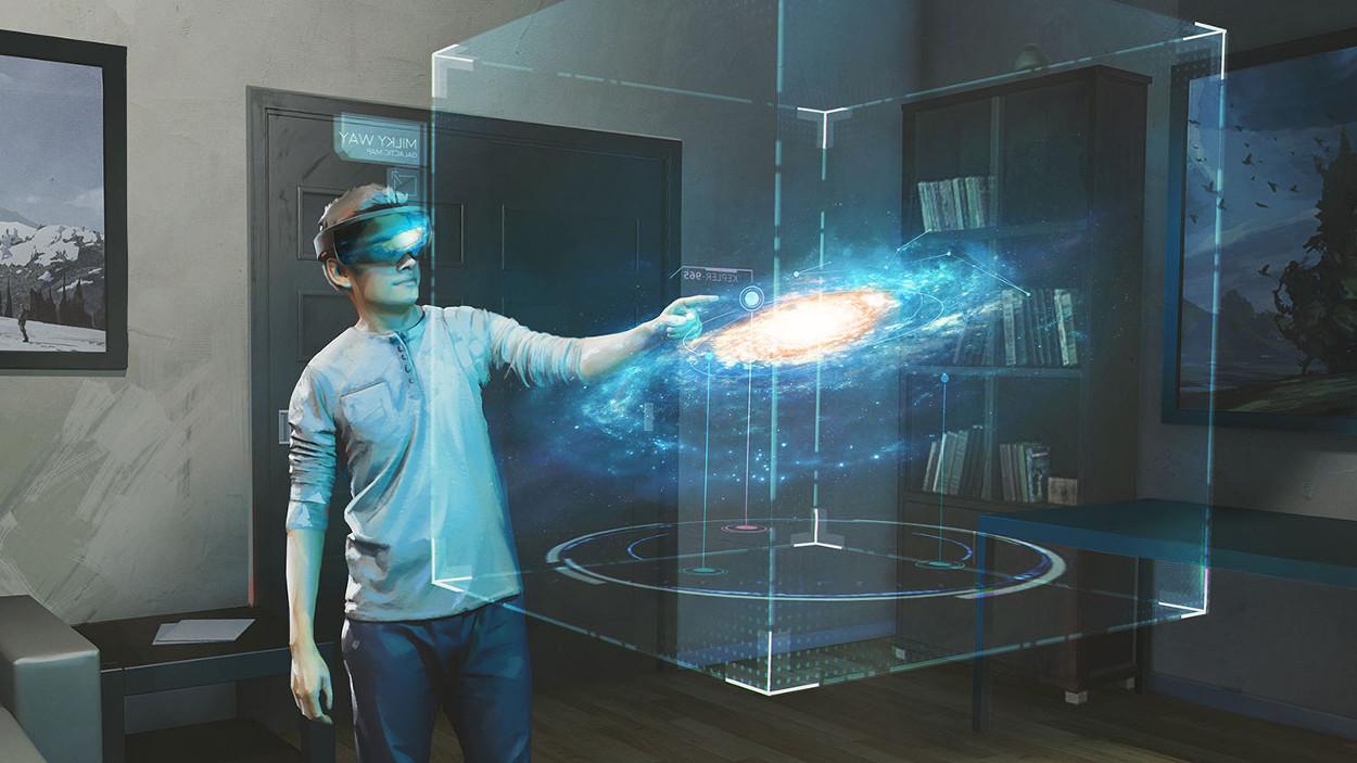 HoloLens w akcji - fot. Microsoft