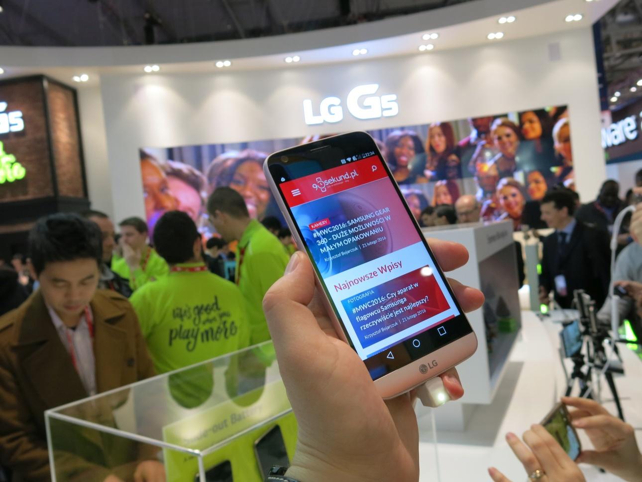 LG G5 - MWC2016 - 90sekund.pl