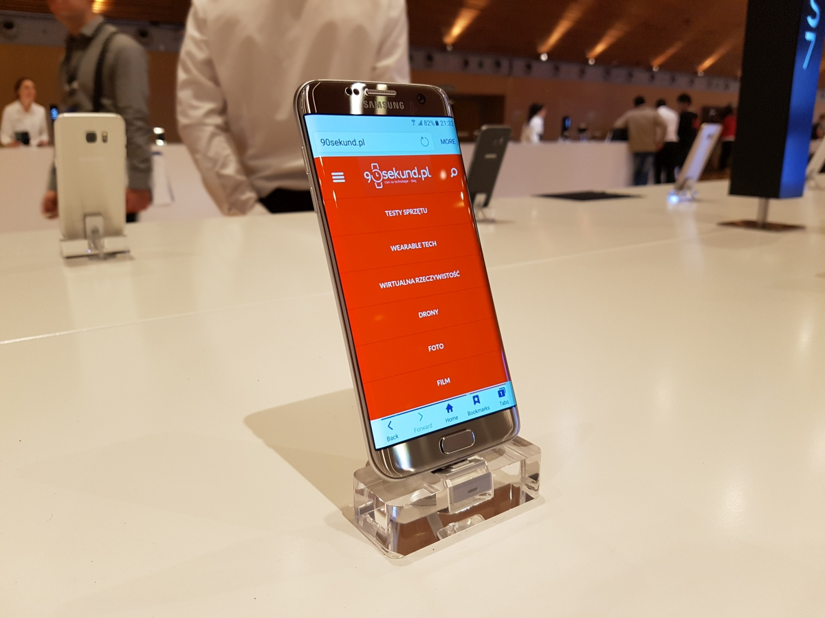 Zdjęcie wykonane smartfonem Samsung Galaxy S7 w warunkach targowych w czasie MWC 2016 w Barcelonie - 90sekund.pl