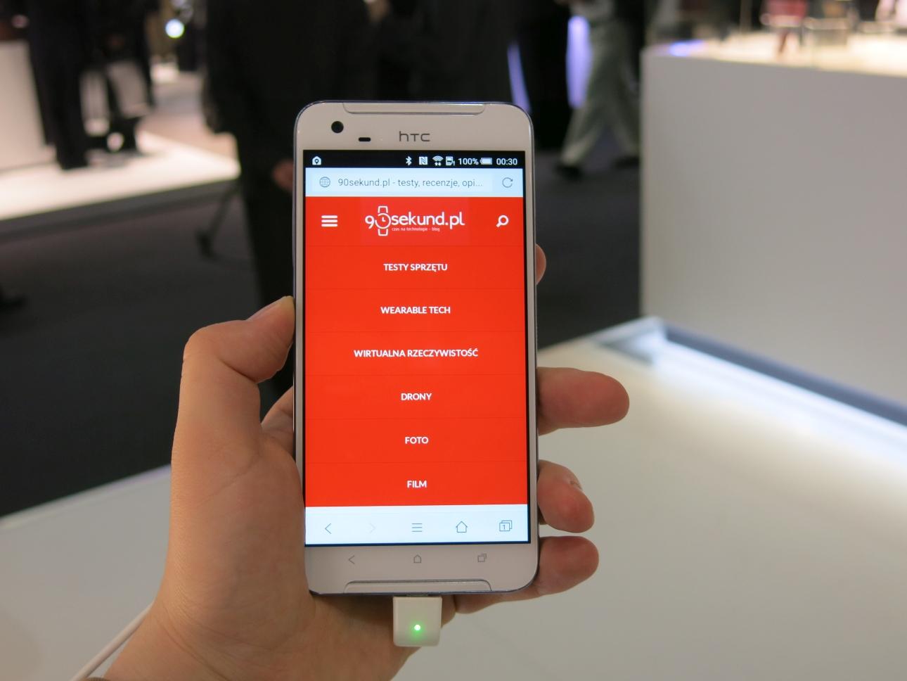 HTC One X9 - MWC2016 - 90sekund.pl
