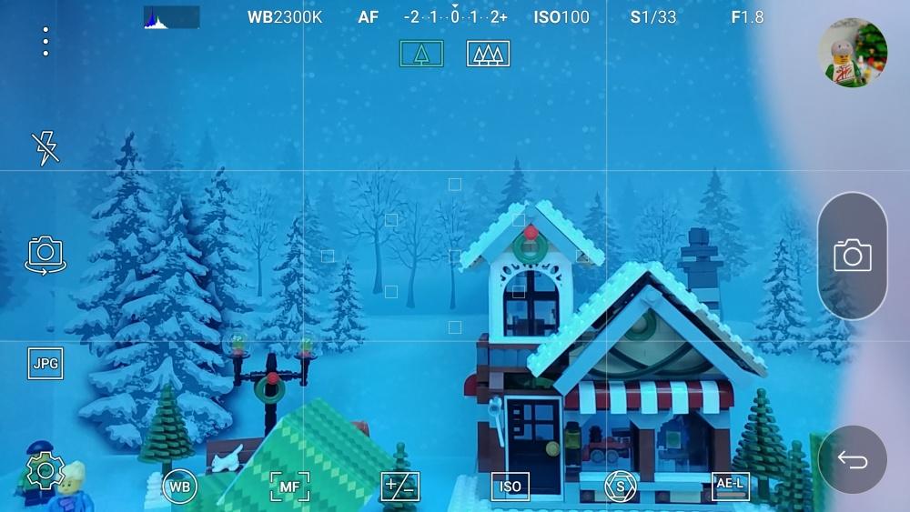 Aplikacja aparatu w LG G5 - tryb manualny - 90sekund.pl