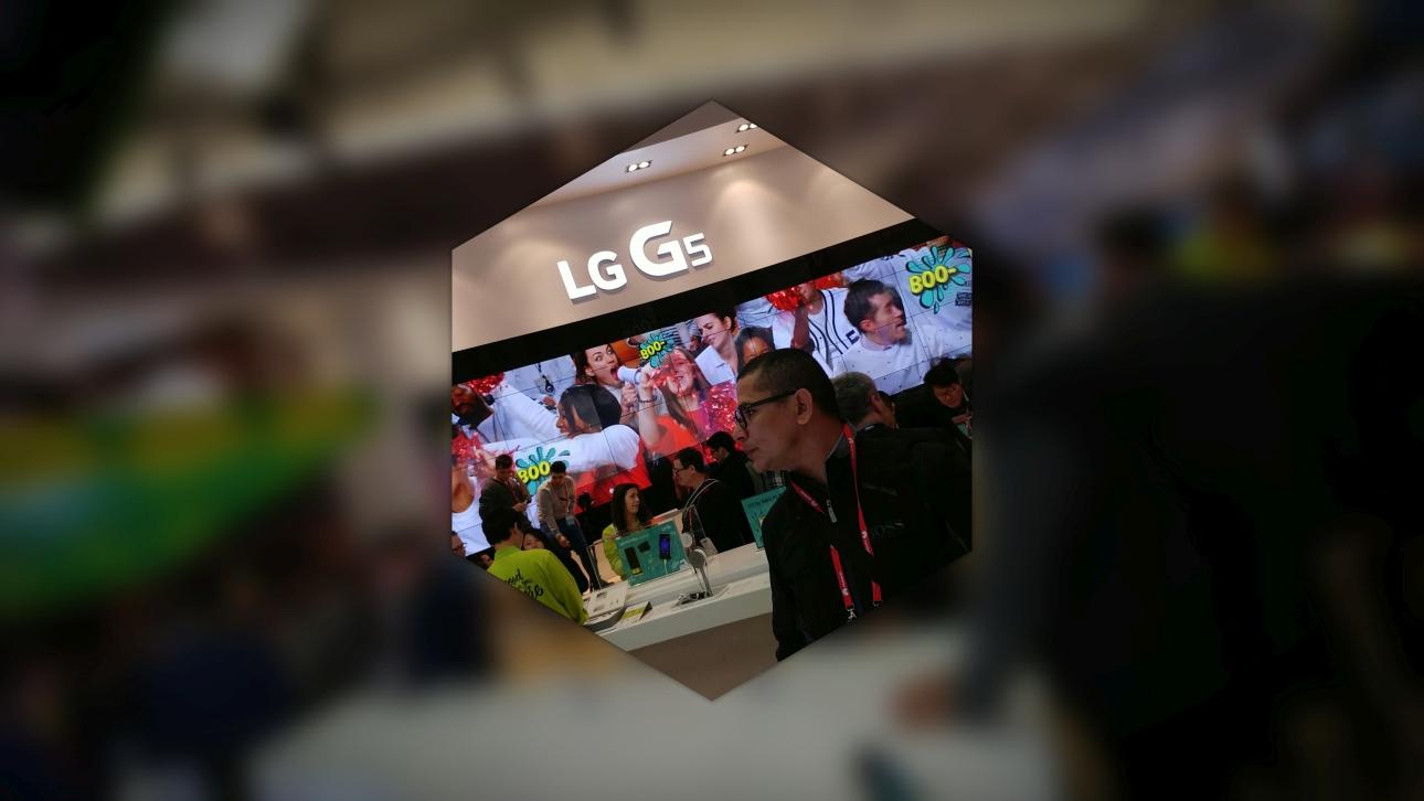 LG G5 - efekt Pop-Out Picture: w środku zdjęcie kolorowe oraz w tle szerokokątne kolorowe z rozmazanym tłem - 90sekund.pl