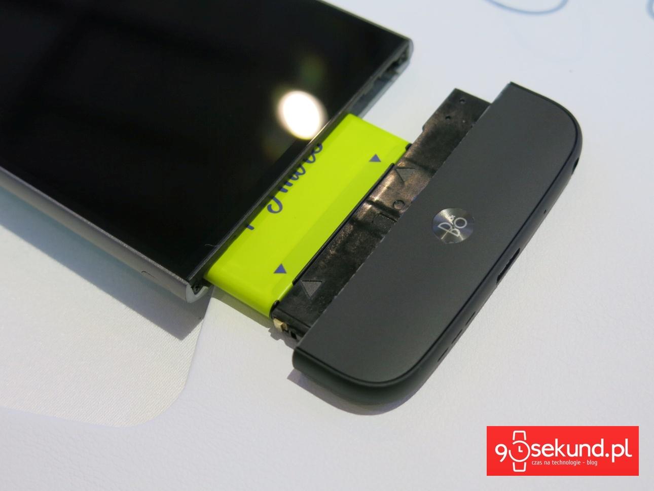 LG Hi-Fi Plus - moduł dźwiękowy od B&O PLAY do LG G5 - 90sekund.pl
