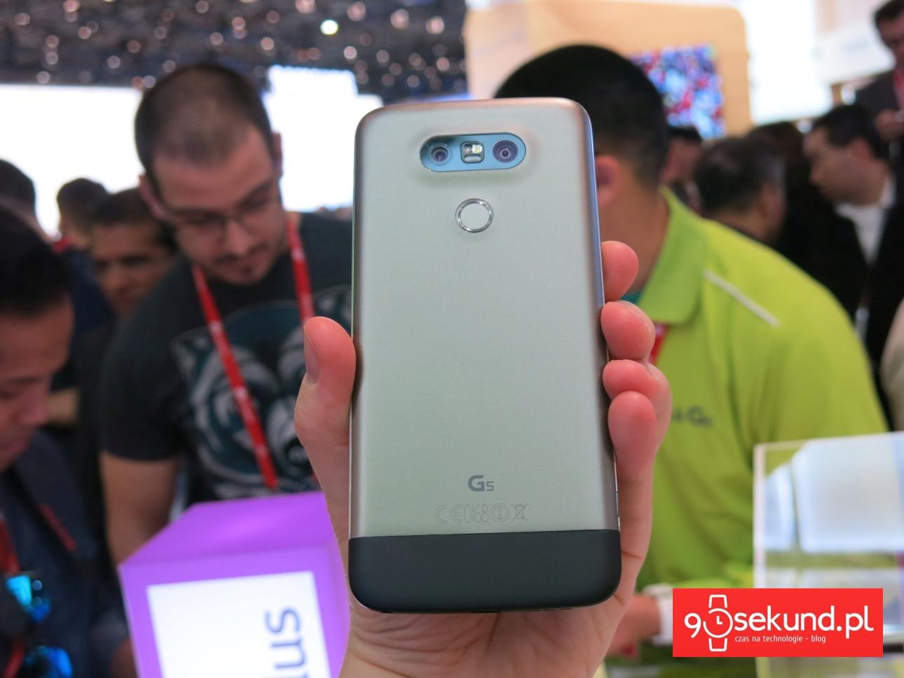 LG G5 z zainstalowanym modułem LG Hi-Fi Plus - 90sekund.pl