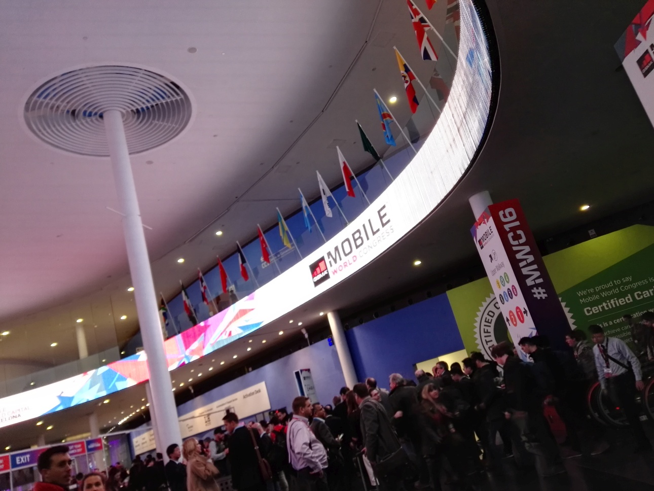 Mobile World Congress 2016 - 90sekund.pl
