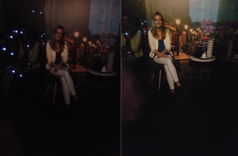 Z lewej zdjęcie wykonane Huawei Mate S. Z prawej Samsungiem Galaxy S7 - MWC2016 - 90sekund.pl