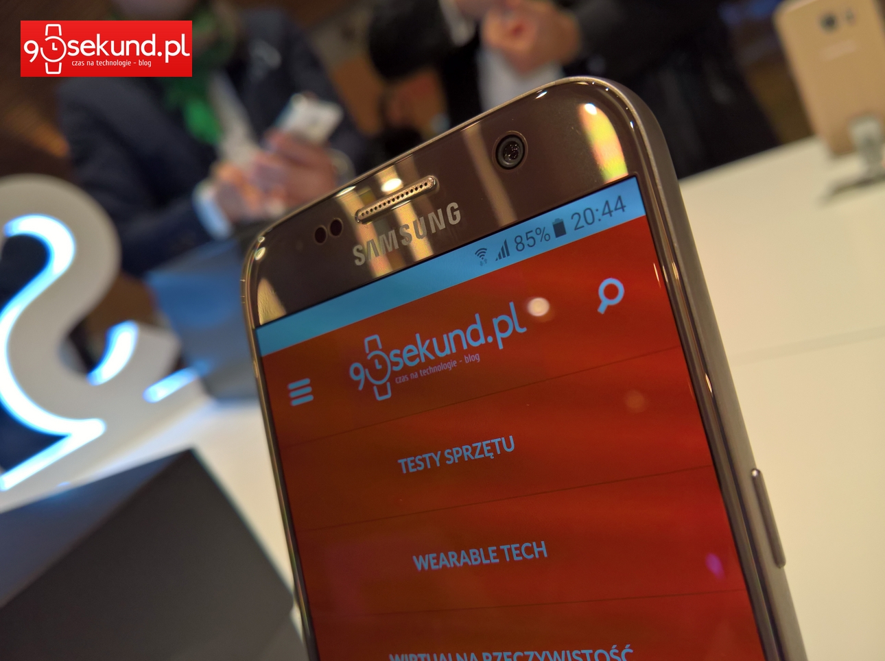 Samsung Galaxy S7 - 90sekund.pl