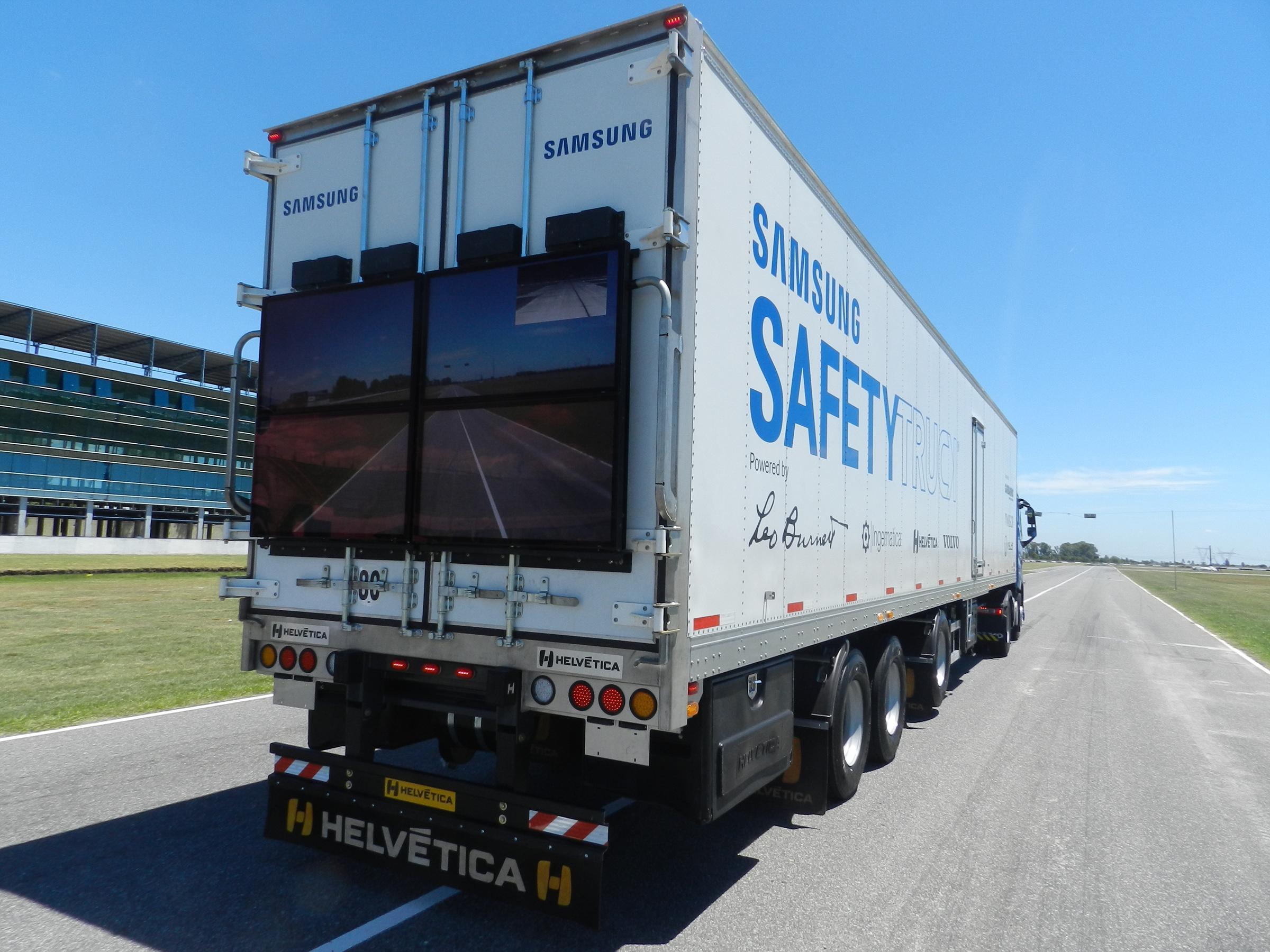 Samsung Safety Truck - mat. pras. Samsung