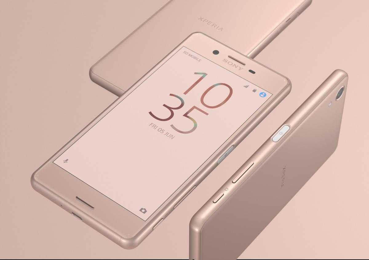 Sony Xperia X Performence - mat. pras. Sony
