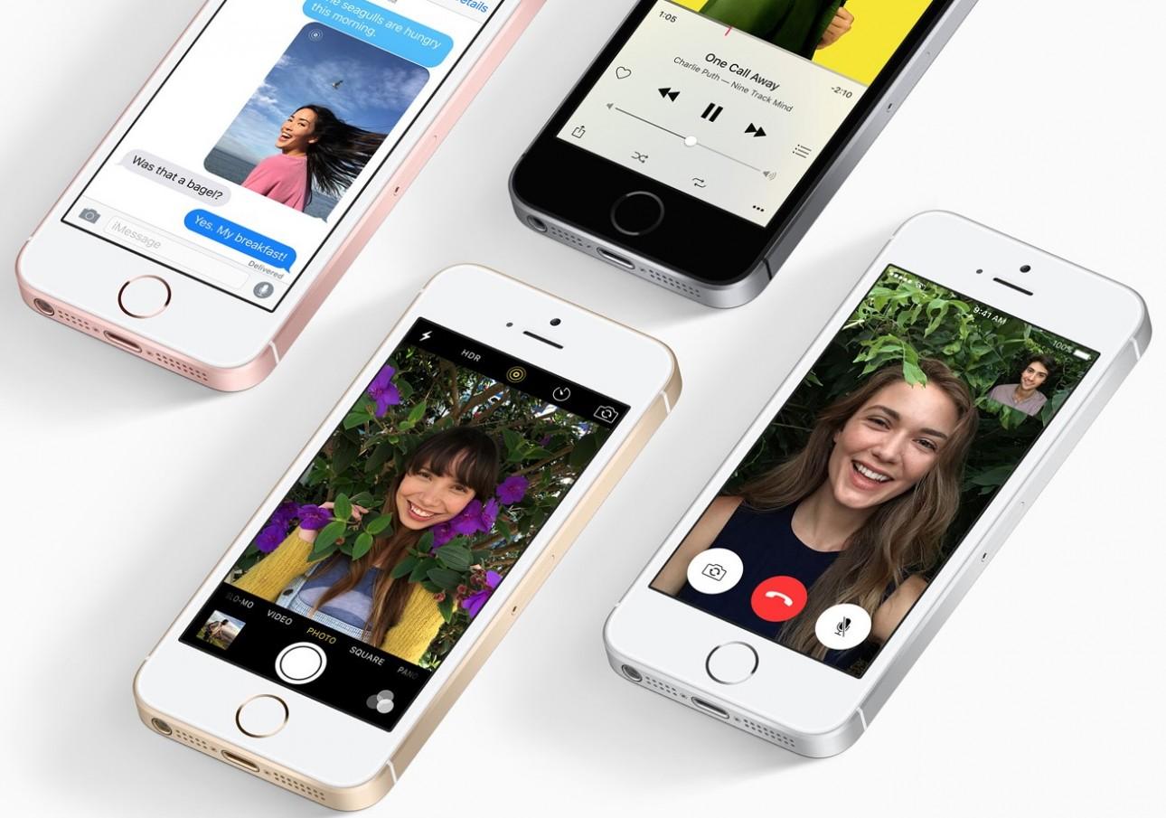 Apple iPhone SE - mat. pras Apple