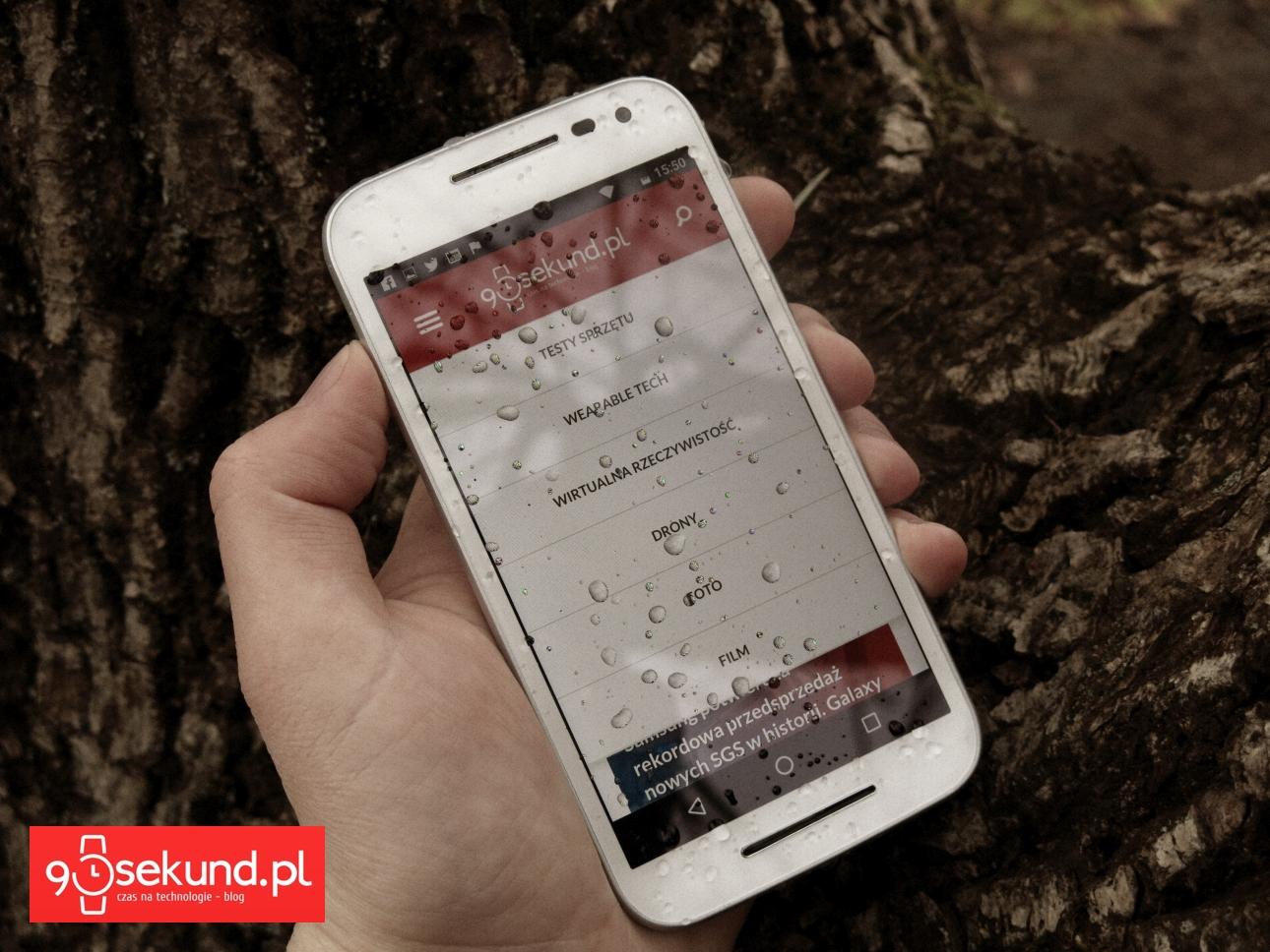 Lenovo Motorola Moto G 3-gen. (2015) - 90sekund.pl