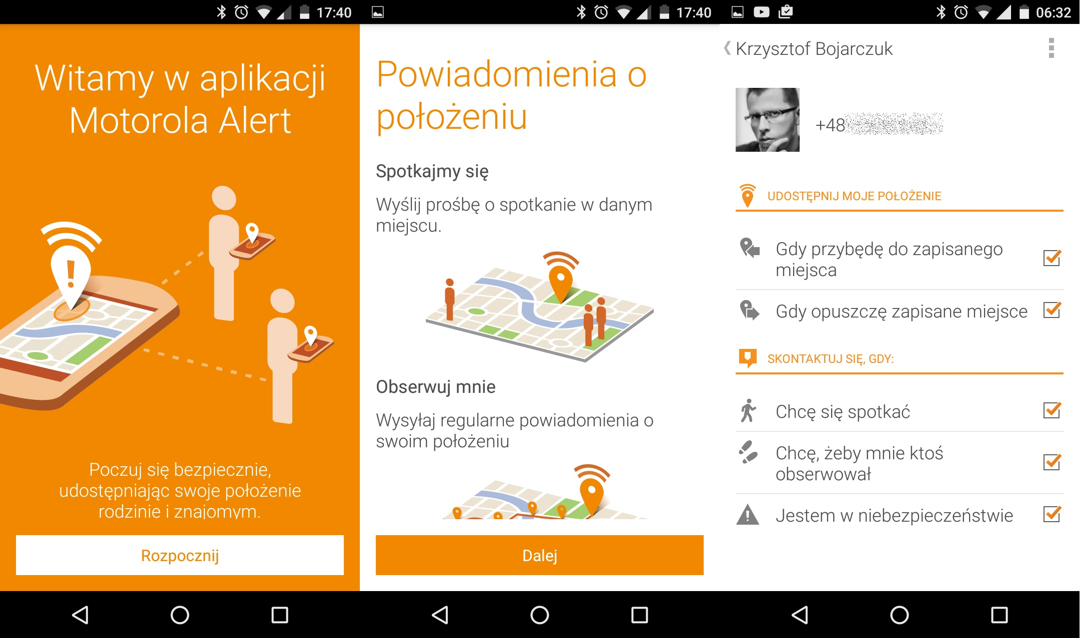 Lenovo Motorola Moto G 3-gen. (2015) - aplikacja Alert - 90sekund.pl