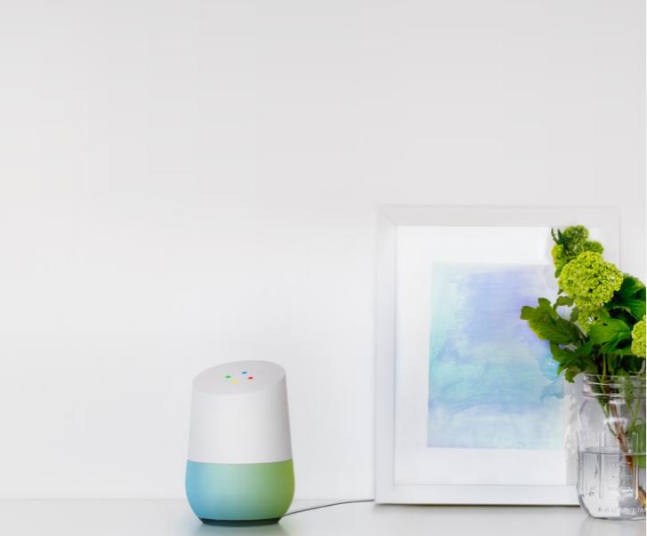 Google Home - mat. pras google