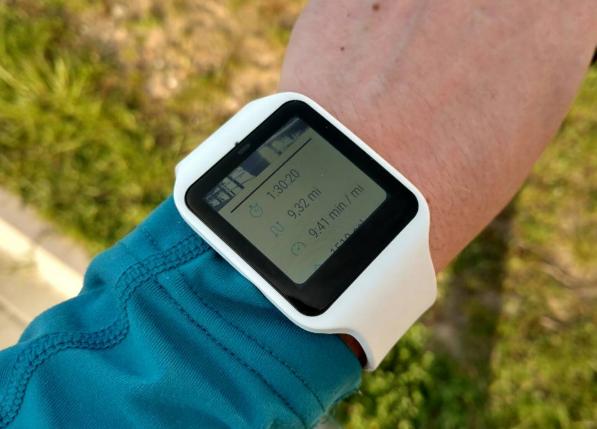 Sony Smartwatch 3 z aplikacją RunKeeper - 90sekund.pl
