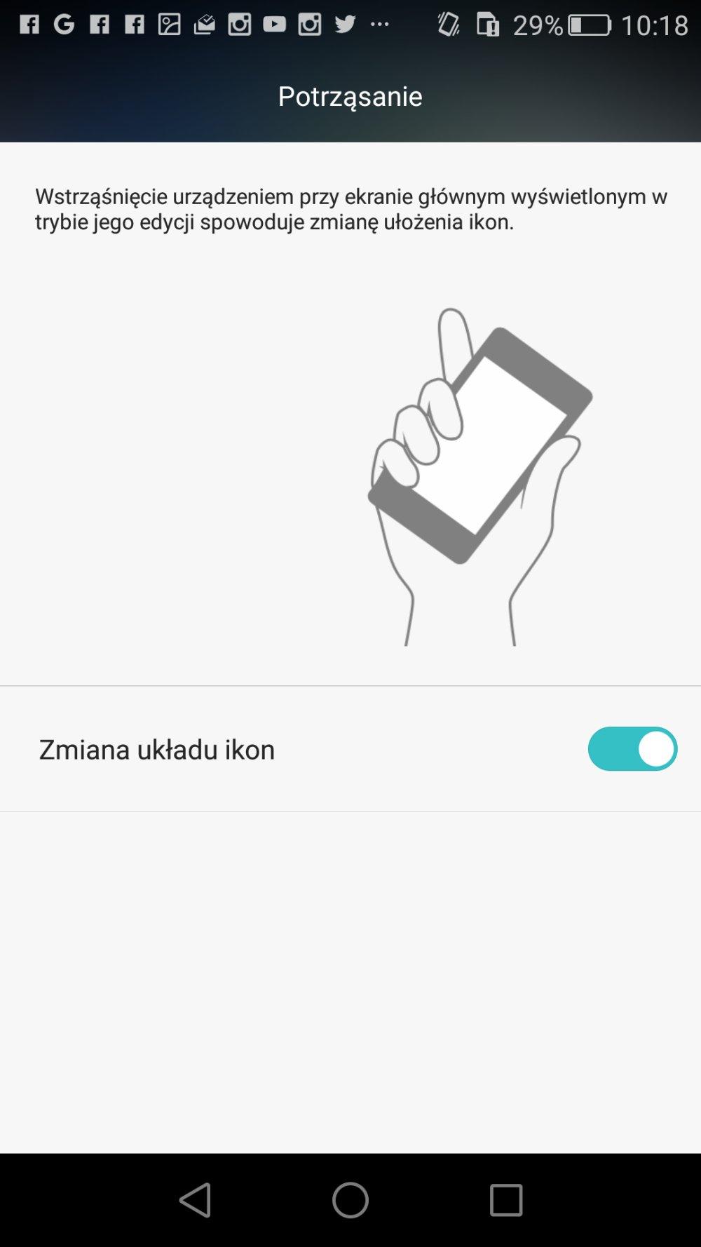 W Honorze 5X z bałaganem ikon można poradzić sobie stosując terapię wstrząsową ;) - recenzja 90sekund.pl