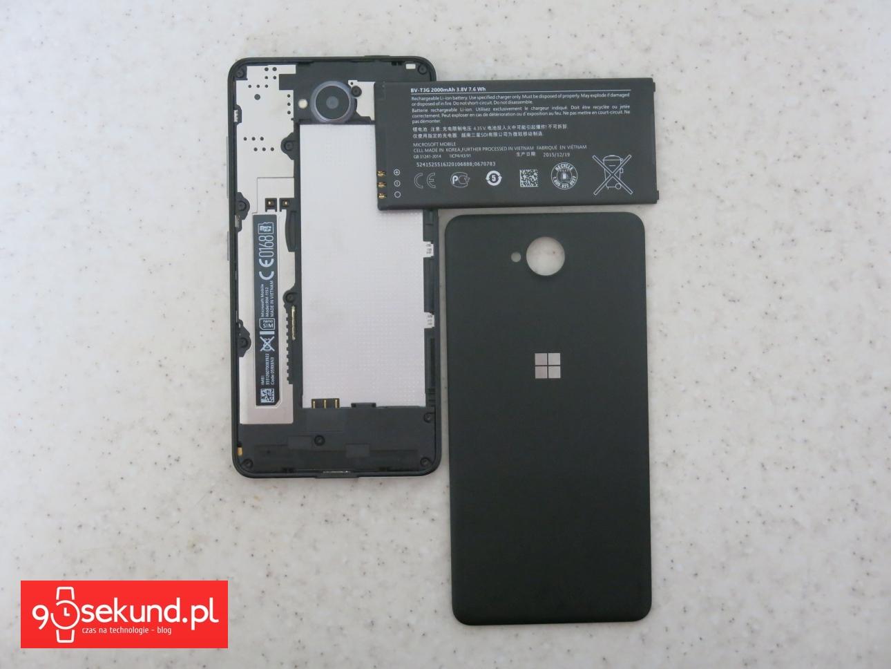 Microsoft Lumia 650 - recenzja na 90sekund.pl