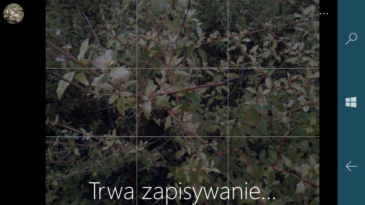 Oj są chwile, że zapisanie zdjęcia w pamięci Lumii 650 potrafi trochę trwać... - 90sekund.pl