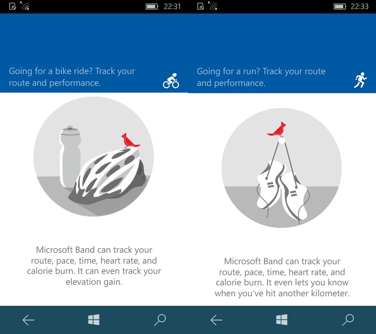 Bez opaski nie pojeździsz, nie pobiegasz w Microsoft Health... - Lumia 650 - 90sekund.pl
