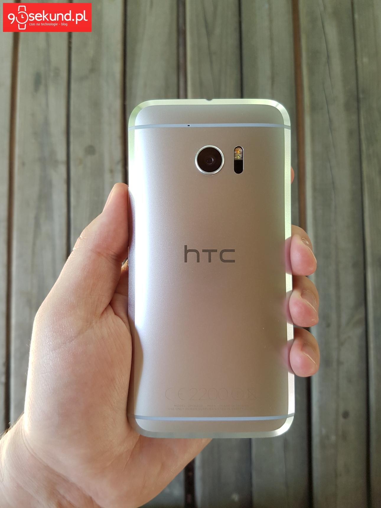 HTC 10 - recenzja 90sekund.pl