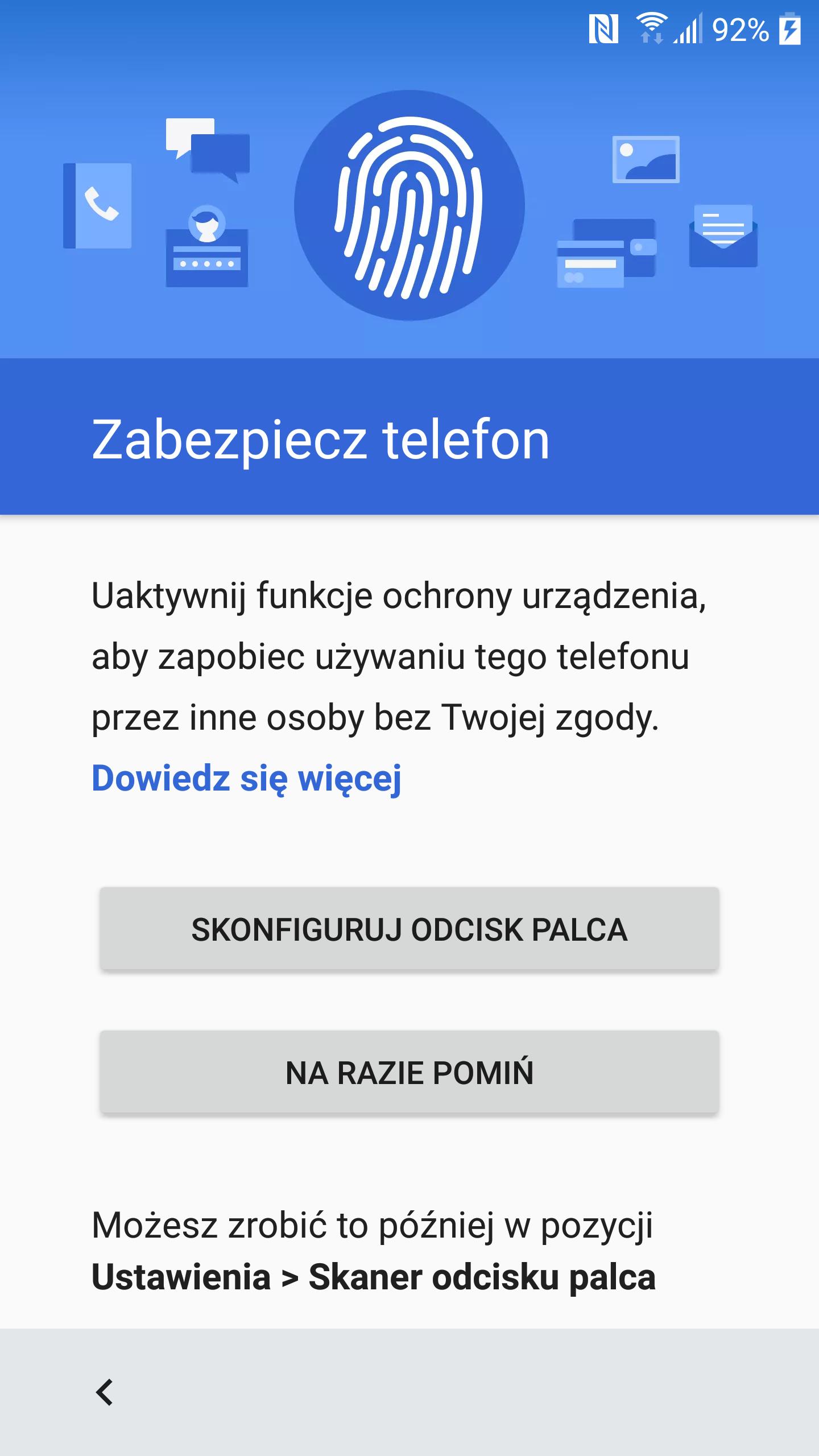 Zabezpieczenie HTC 10 odciskiem palca sprawdza się wybornie - recenzja 90sekund.pl
