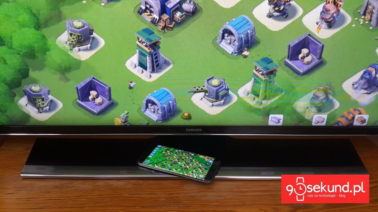 Samsung Galaxy S7 - A może tak Boom Beach na wilekim ekranie? - 90sekund.pl