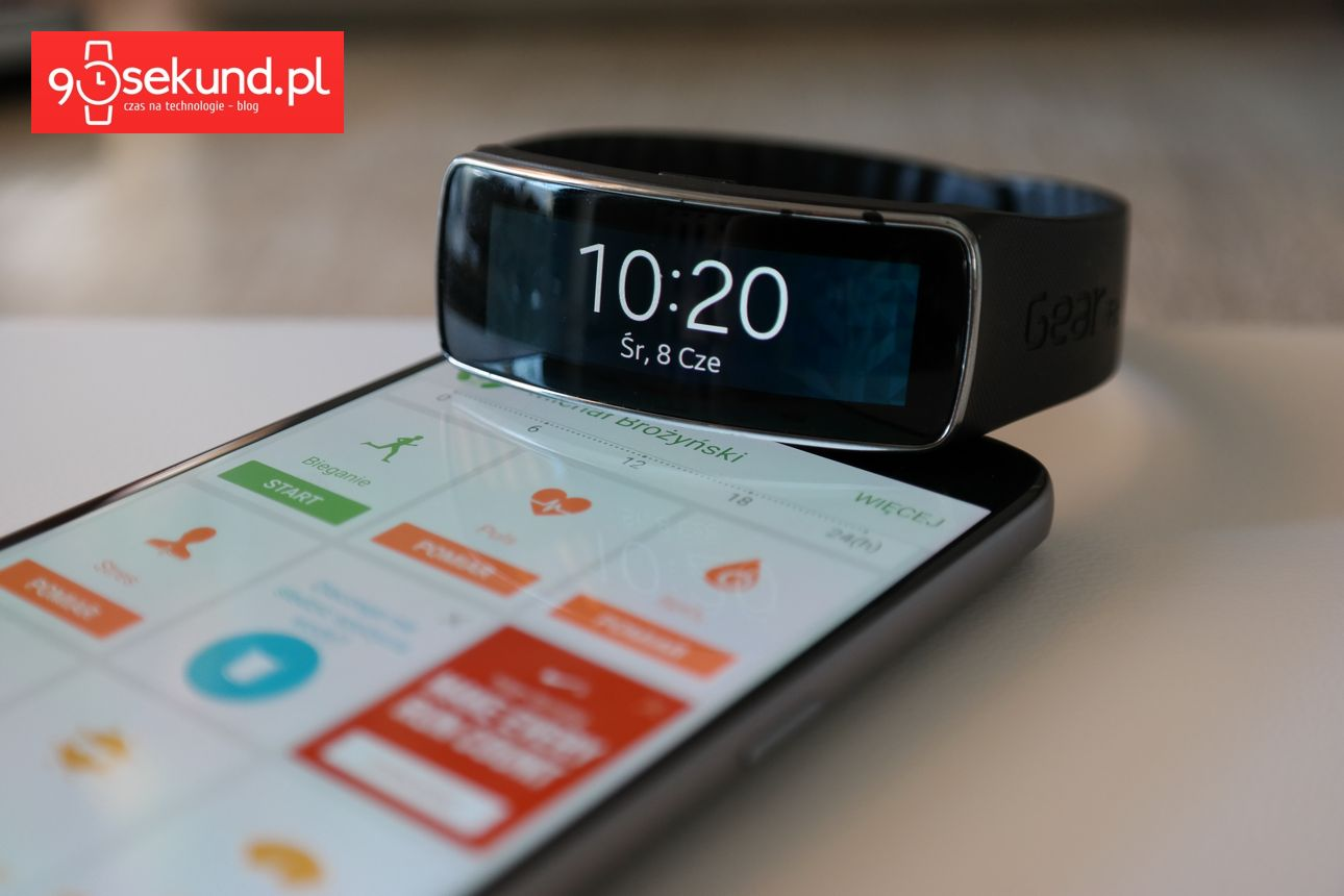 Samsung Galaxy S7 - Shealth i Gear Fit - 90sekund.pl