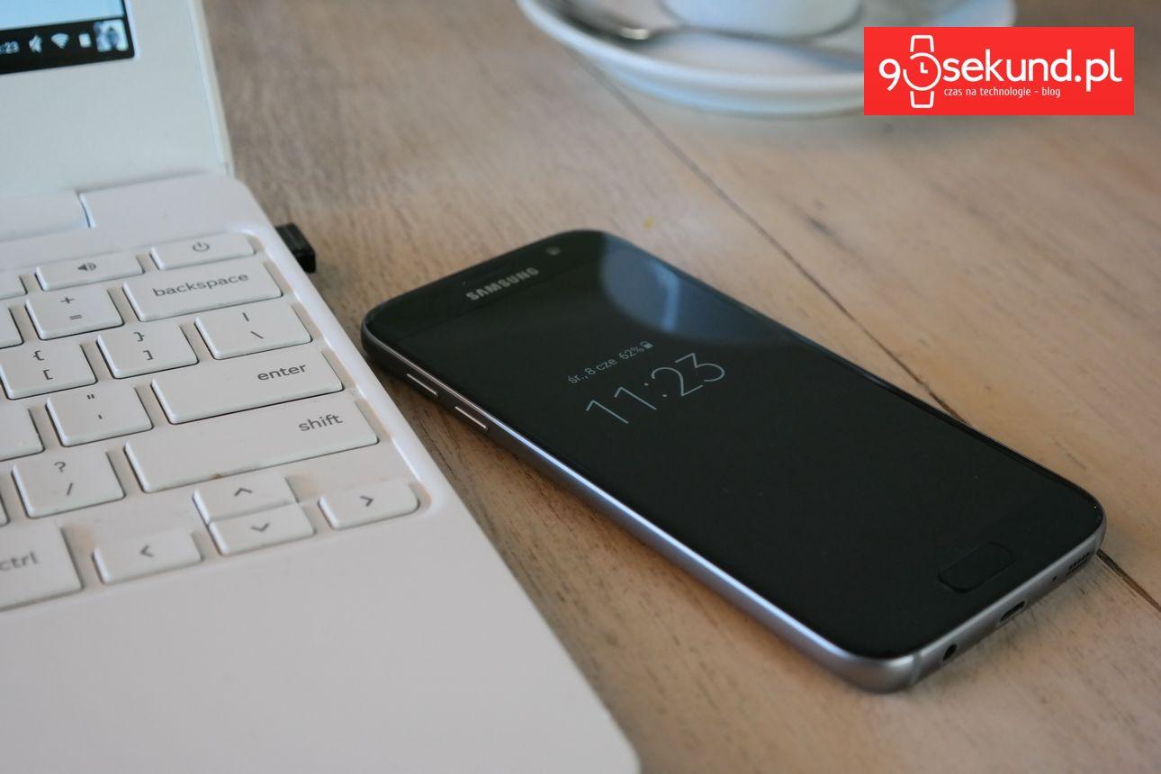 Mój dzień z Samsungiem Galaxy S7 - 90sekund.pl
