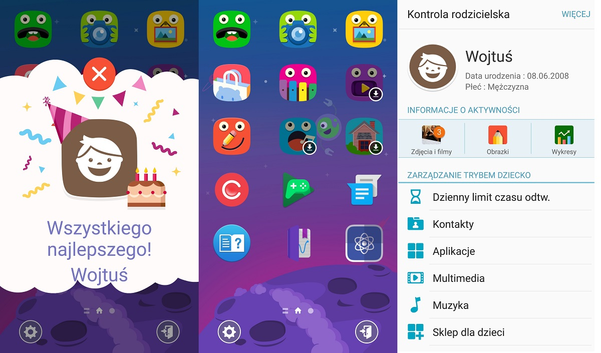Kids Mode w Samsungu Galaxy S7 - 90sekund.pl