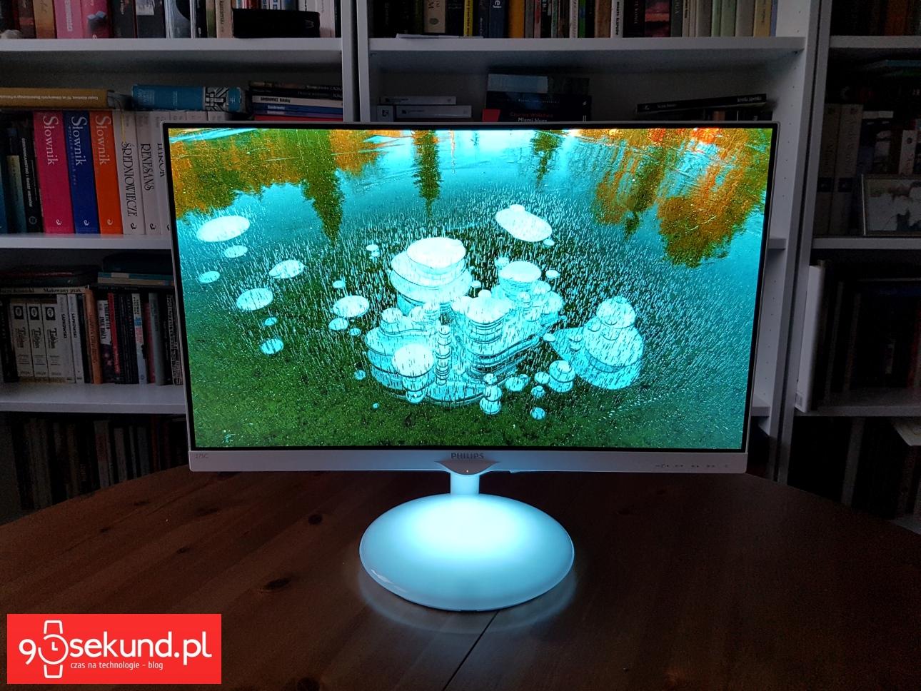 Monitor Philips Moda 275C Ambiglow Plus - recenzja 90sekund.pl