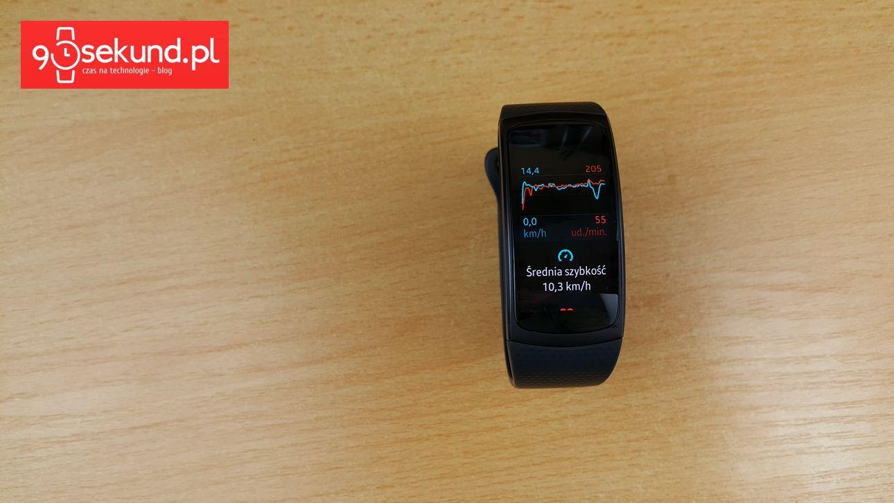 Samsung Gear Fit 2 (SM-R360) - recenzja 90sekund.pl