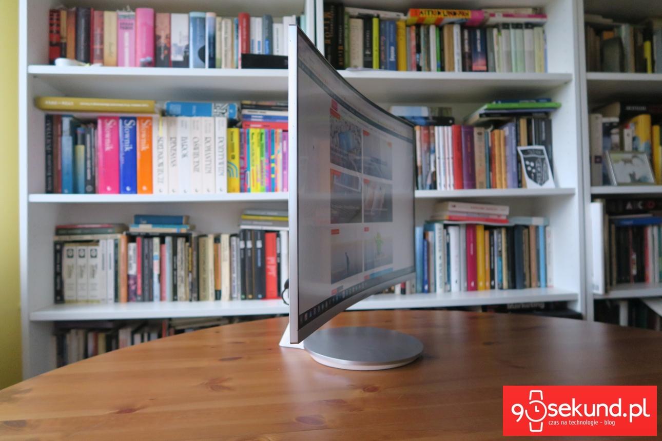 Zakrzywiony monitor Samsung C27 F591FDU - recenzja 90sekund.pl