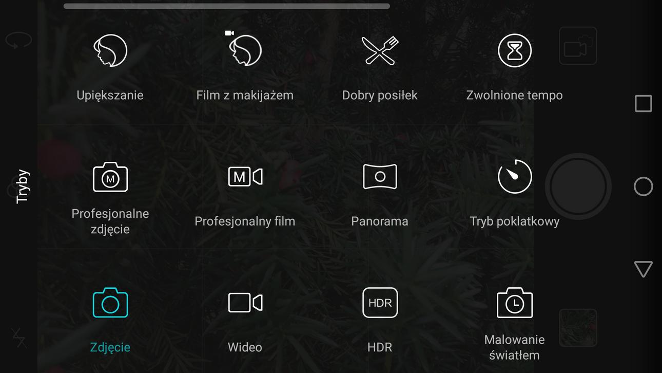 Huawei P9 Lite - Aplikacja aparatu - recenzja 90sekund.pl