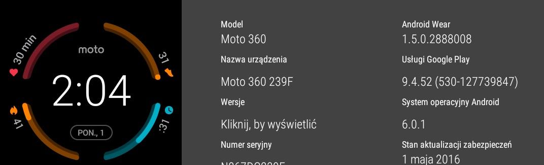 Android Wear na Lenovo Moto 360 Sport - recenzja 90sekund.pl