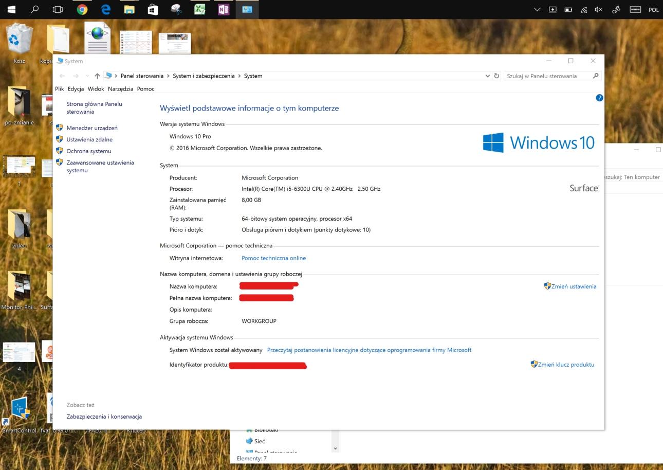 Specyfikacja systemu i sprzętowa Microsoft Surface Booka - recenzja 90sekund.pl