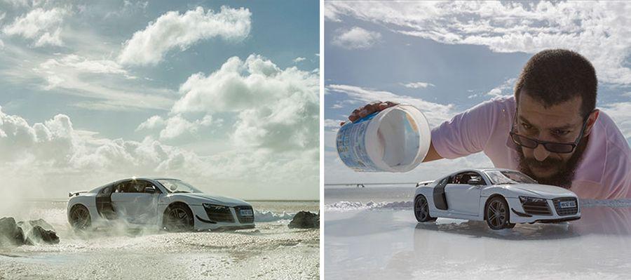 Tak powstawała sesja zdjęciowa dla Audi - fot. Felix Hernandez