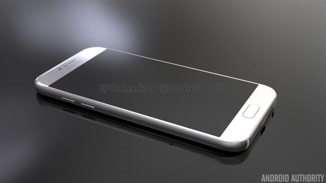 Samsung Galaxy A5 2017 - render