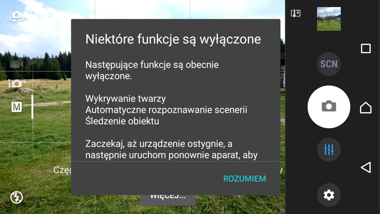 Sony Xperia X Performance (F8131) - Za ciepło? Koniec ze zdjęciami... :'( - recenzja 90sekund.pl