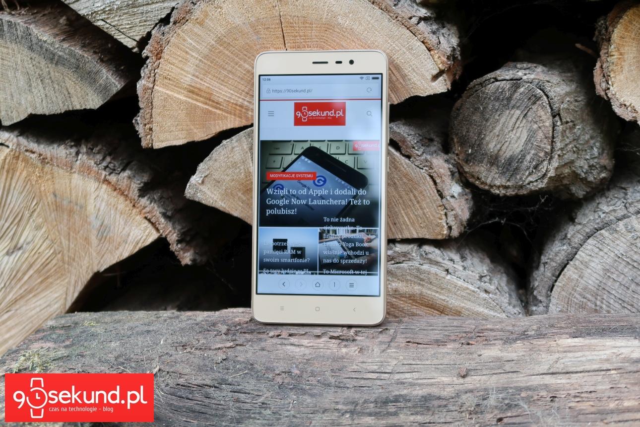 Xiaomi Redmi Note 3 - recenzja 90sekund.pl