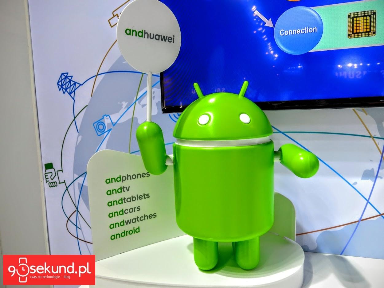 Robot Android - 90sekund.pl