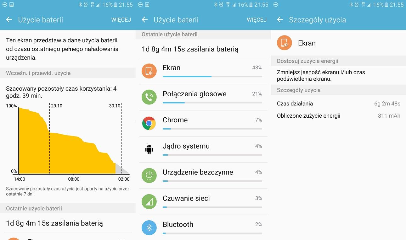 Bateria w niemal rocznym Samsungu Galaxy A5 2016 - 90sekund.pl