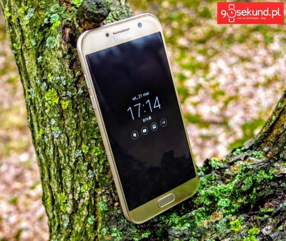 Funkcja Always On Display w Samsungu Galaxy A5 2017 - recenzja 90sekund.pl