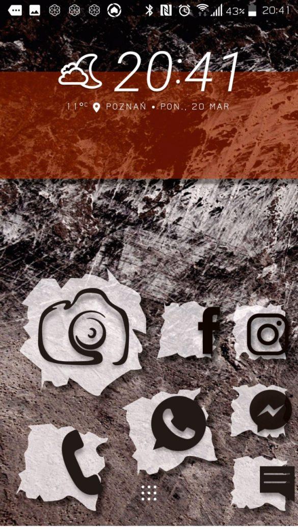 Interfejs naklejkowy w Stylu Dowolnym w HTC U Play - 90sekund.pl