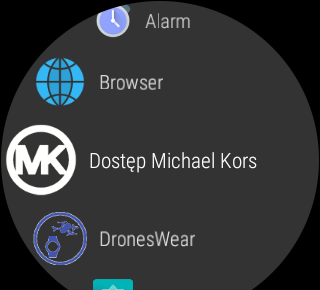 System Android Wear 2.0 na smartwatchu Michael Kors Access (Dylan) - 90sek.pl