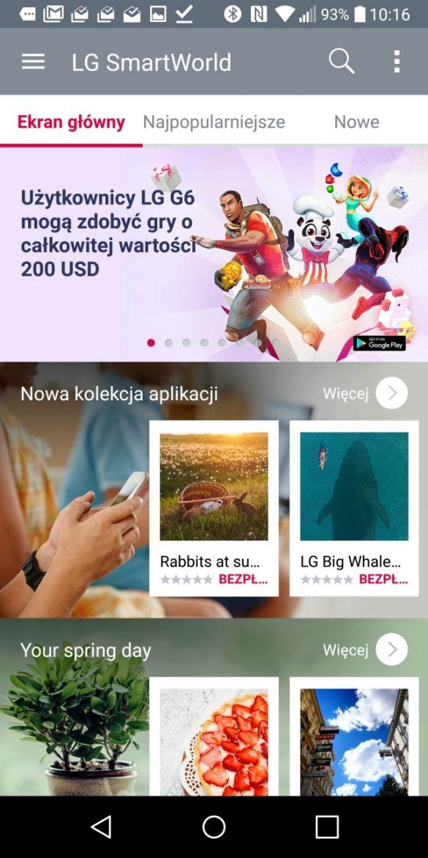 Sklep z motywami i dodatkami do LG G6 - SmartWorld - 90sekund.pl
