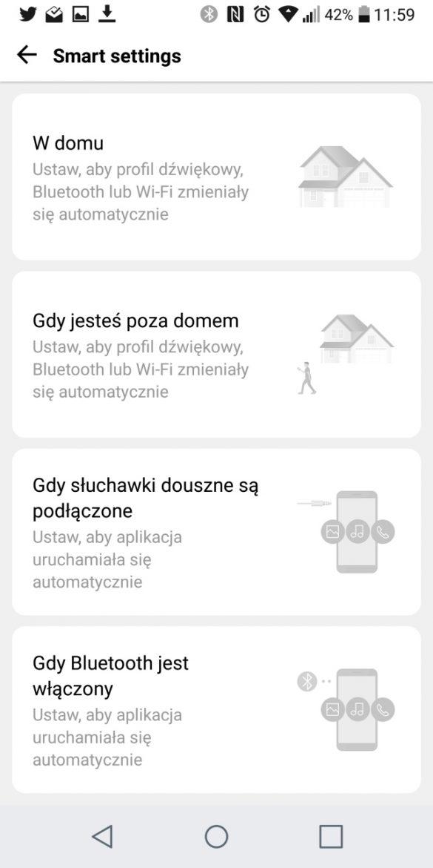 SmartSettings w LG G6 - 90sekund.pl