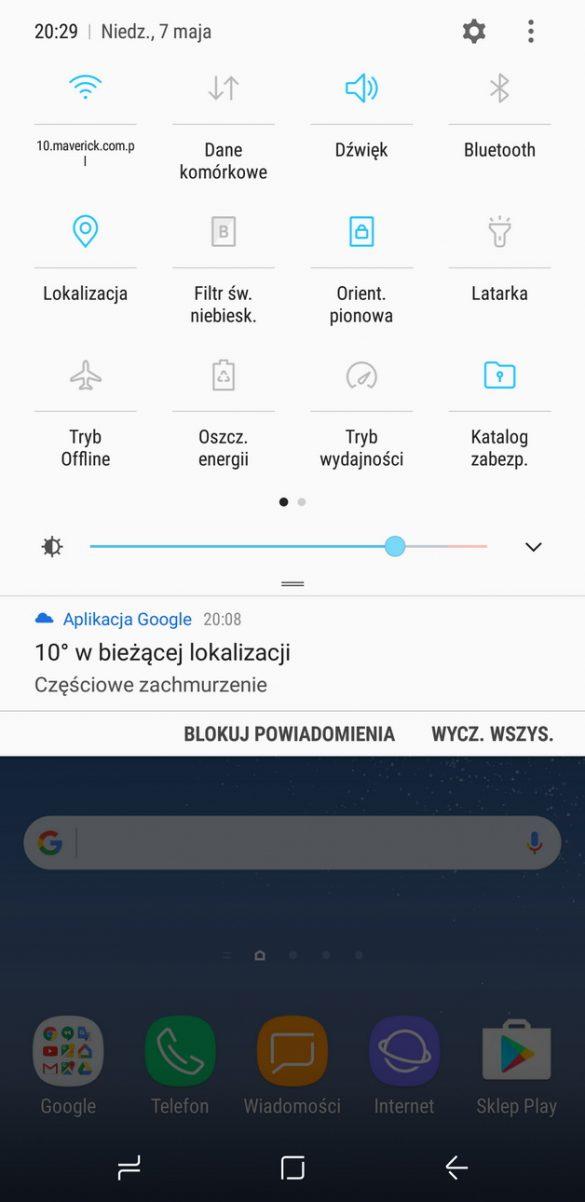 Samsung Galaxy S8+(Plus) SM G955F - recenzja 90sekund.pl