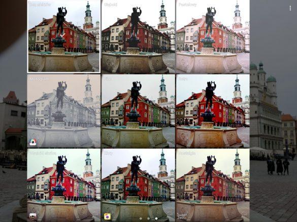 Aplikacja fotograficzna w tablecie Samsung Galaxy Tab S3 - 90sekund.pl
